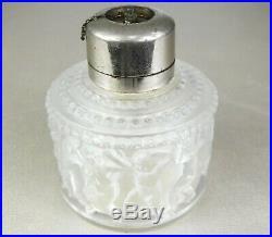 1931 Rene Lalique France Rare Sp Vaporisateur A Parfum Art Nouveau Pte De Verre