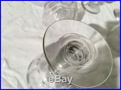 9 Très beau Vieux gros verres ballon de bistrot bien épais fin 19ème Siècle