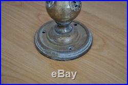 Applique ART NOUVEAU Bronze pâte de verre Signée