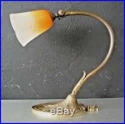 Charles SCHNEIDER Lampe art nouveau art deco pate de verre-daum, gallé, ranc