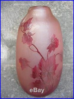 Joli Vase Legras Decor Floral