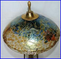 Lampe Kralik Loetz En Verre Irise Art Nouveau