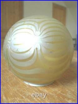 Loetz Globe De Lampe Veilleuse Art Nouveau Kralik Pallme König Tiffany (829)