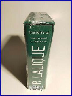 René Lalique catalogue raisonné de l'oeuvre de verre Marcilhac 9782859175108