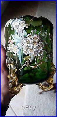 Verrerie Pate Verre Emaux 1900 Art Nouveau Japon, Escalier De Cristal, Legras